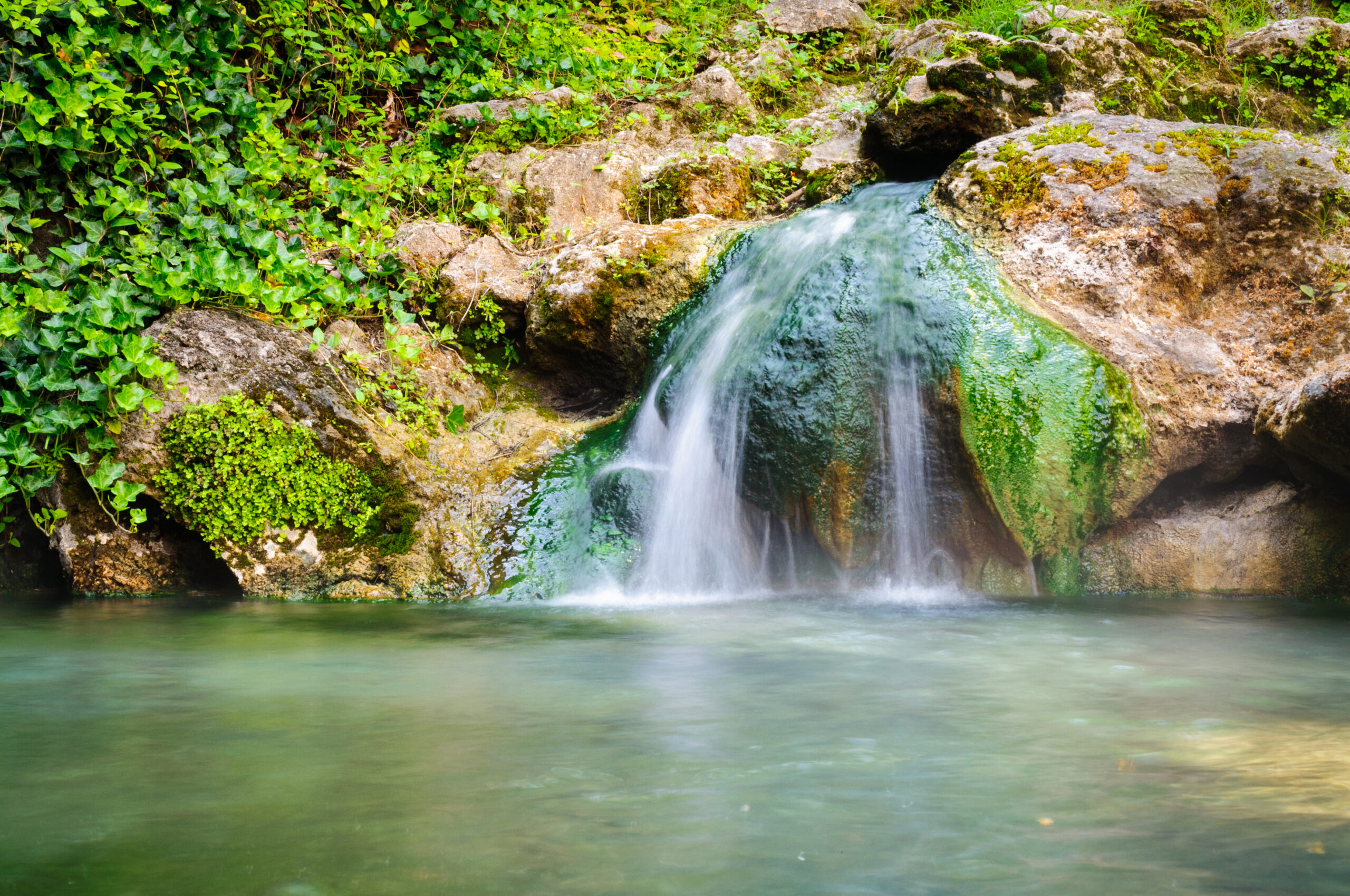 Waterfall at Hot Springs National Park; Courtesy Zack Frank/Shutterstock