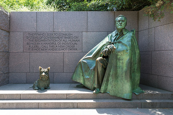 Franklin Delano Roosevelt Memorial in Washington, D.C.
