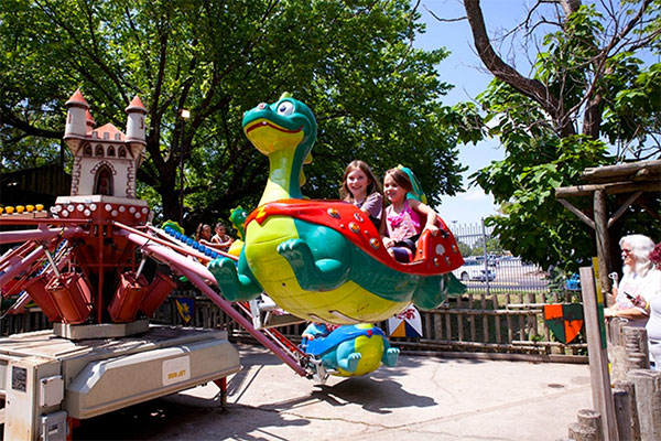 Flying Dragons at Frontier City in Oklahoma.