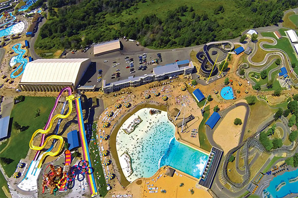 Mount Olympus Water & Theme Park in Wisconsin Dells, Wisconsin.