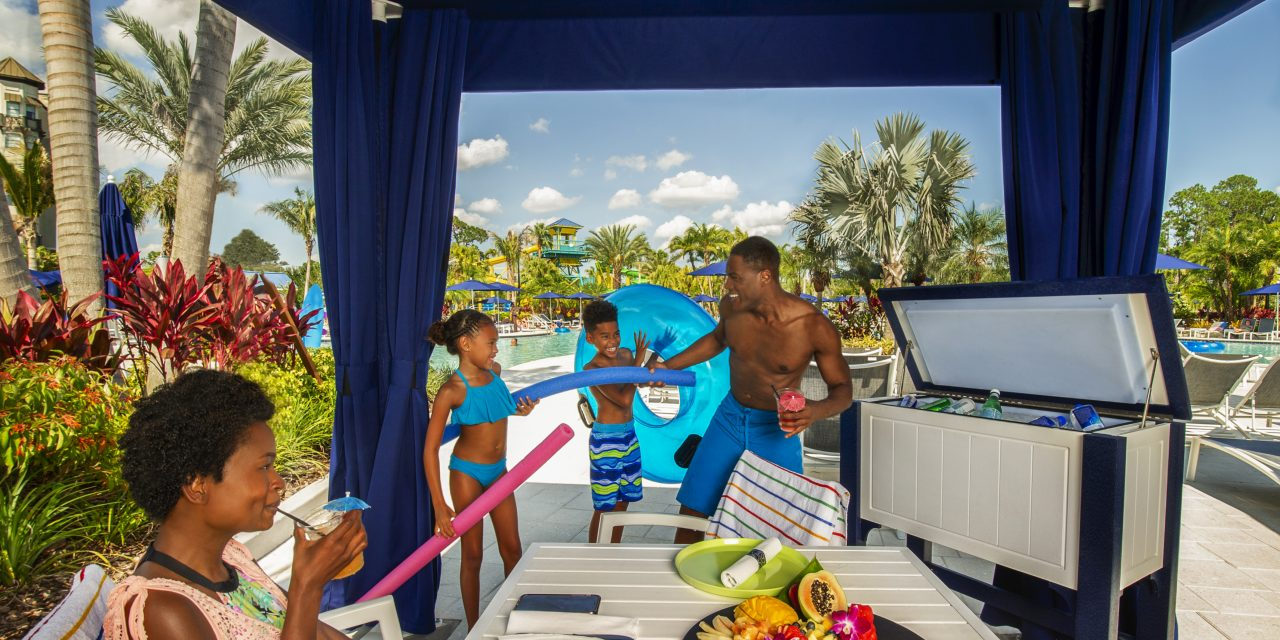 Surfari Cabana at The Grove Resort & Spa Orlando; Courtesy of The Grove Resort & Spa Orlando