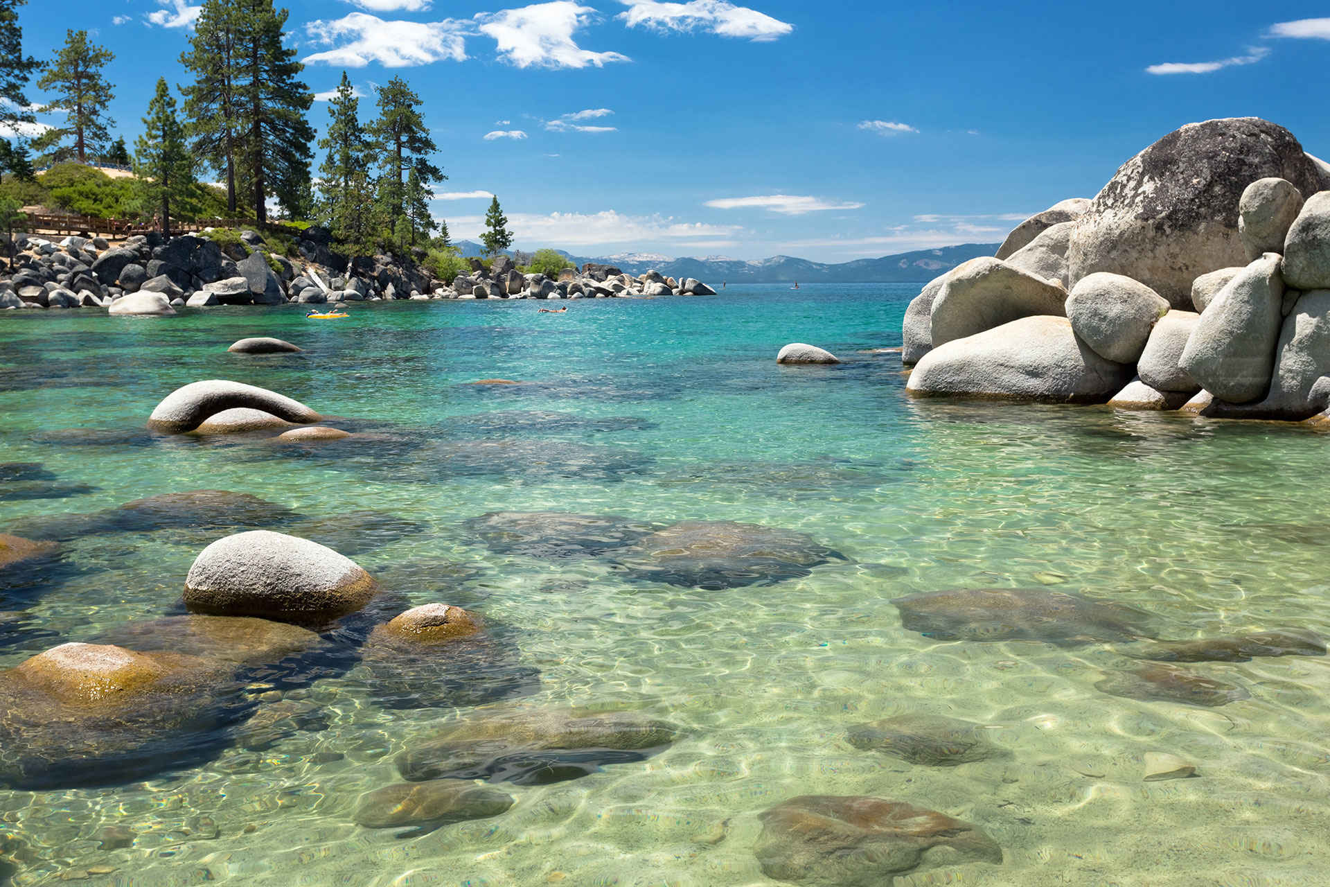 view of lake tahoe; Courtesy of topseller/Shutterstock.com