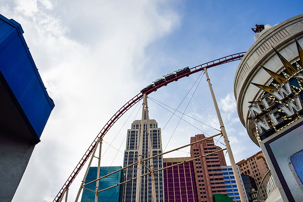 Big Apple Coaster in Las Vegas