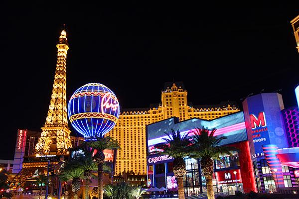 Las Vegas's Eiffel Tower