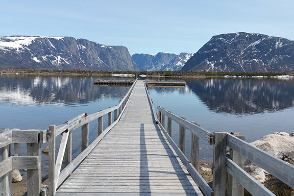 Gros Morne National Park in Newfoundland and Labrador, Canada.