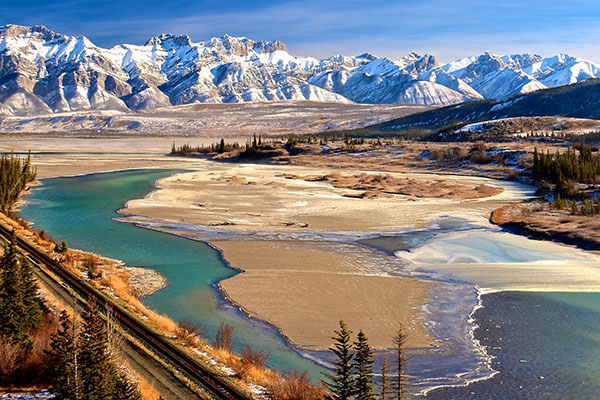 Jasper National Park in Alberta, Canada.