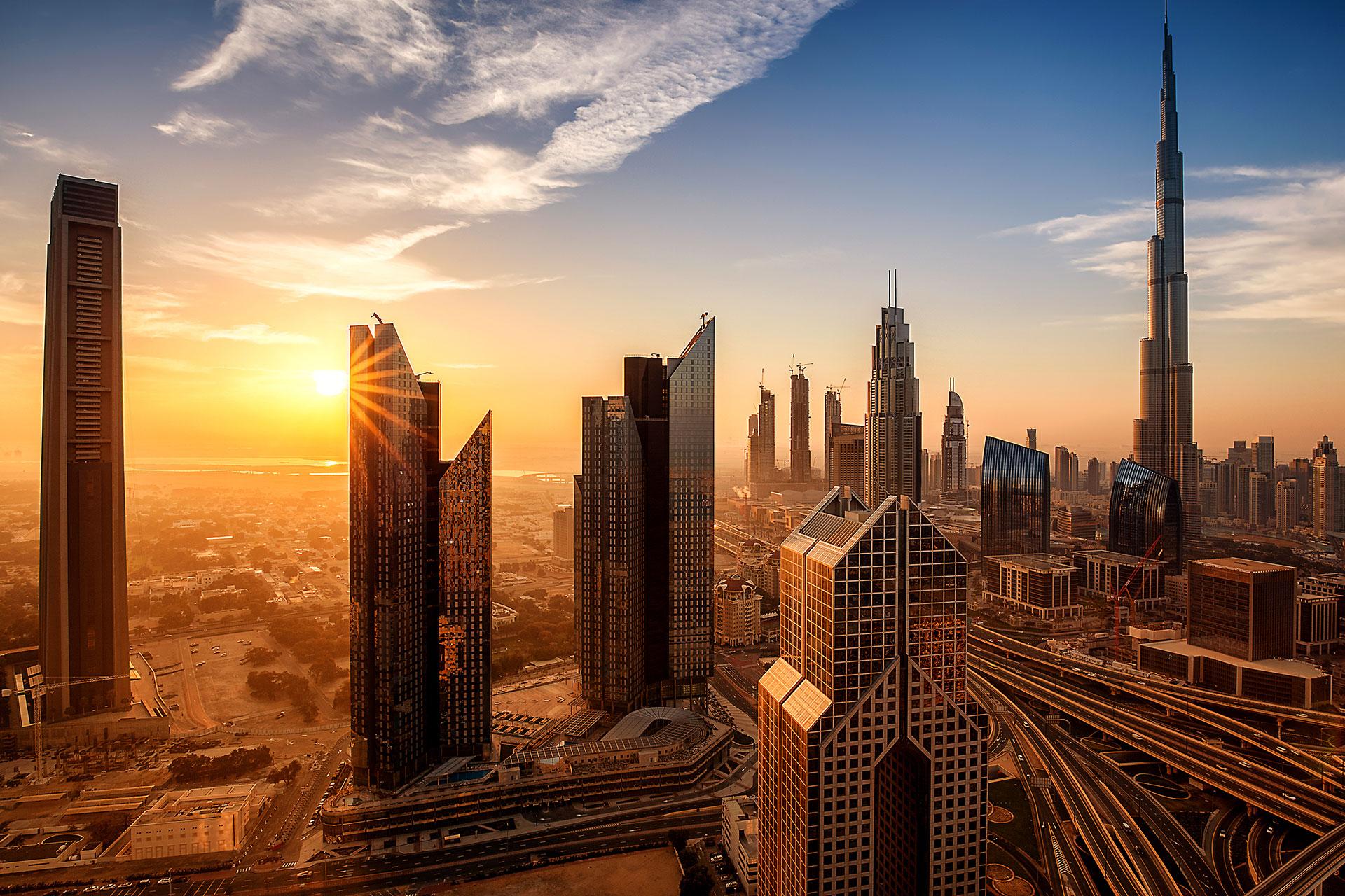 Dubai Skyline; Courtesy of Cara-Foto/Shutterstock.com