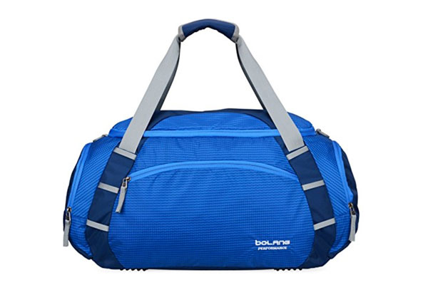 Bolang Water Resistant Travel Duffel Tote.