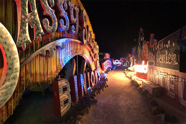 The Neon Museum in Las Vegas, Nevada.