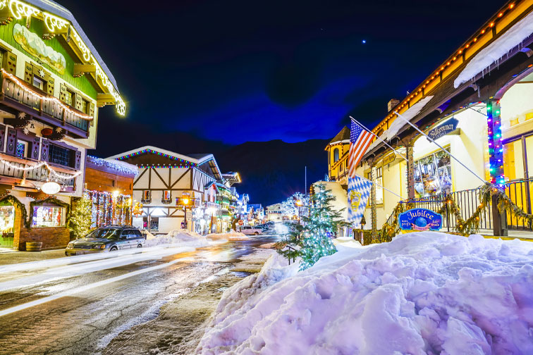 Leavenworth, Washington; Courtesy of Checubus/Shutterstock.com