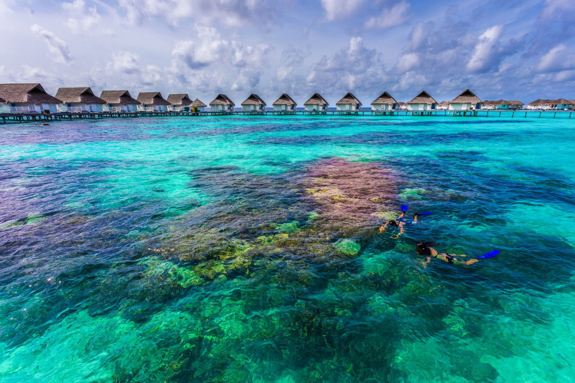 Centara Grand Island Resort & Spa in the Maldives
