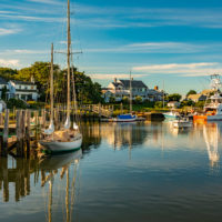 Wychmere Harbor, Harwich, Cape Cod, Massachusetts