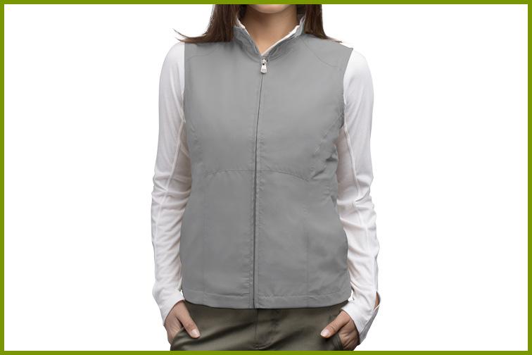 ScotteVest RFID Travel Vest for Women; Courtesy of ScotteVest