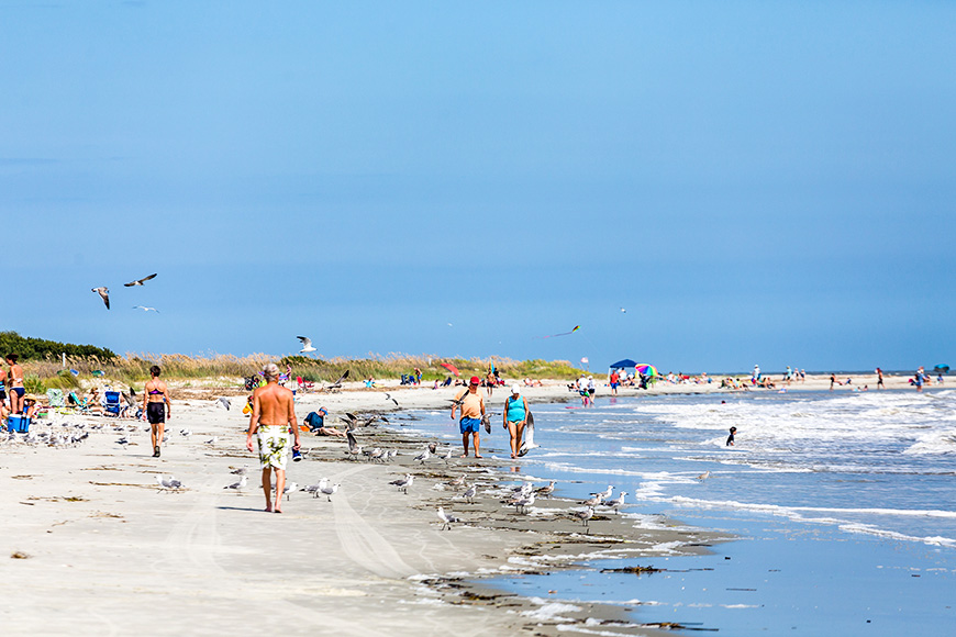St. Simons Island beach; Courtesy of Darryl Brooks/Shutterstock