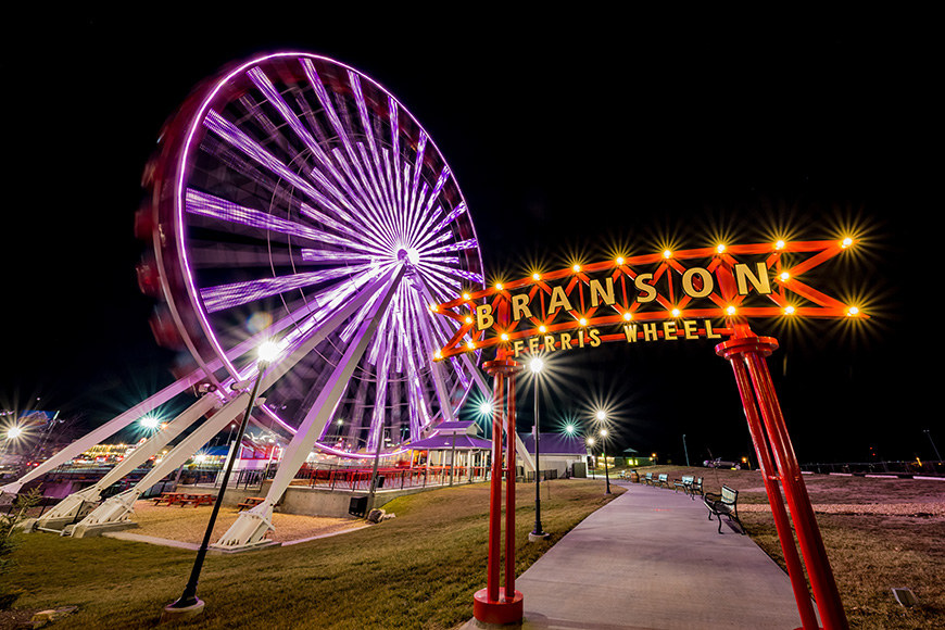 Branson Ferris Wheel; Courtesy of Branson Convention and Visitors Bureau