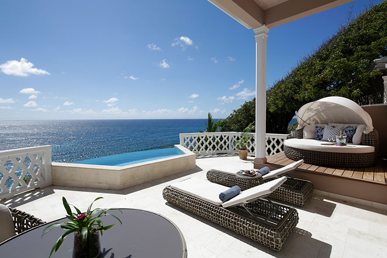 Villa With Private Plunge Pool at Curtain Bluff in Antigua