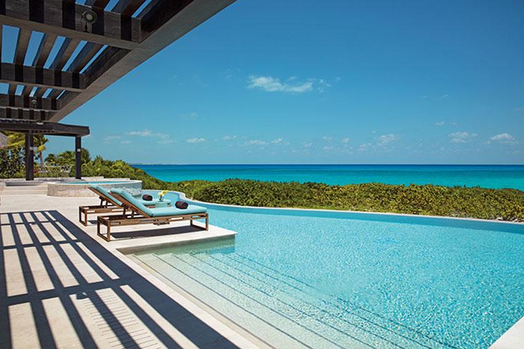 Preferred Club Family Presidential Suite Ocean View at Dreams Playa Mujeres Golf & Spa Resort