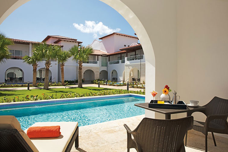 Suite With Private Pool at Dreams Dominicus La Romana
