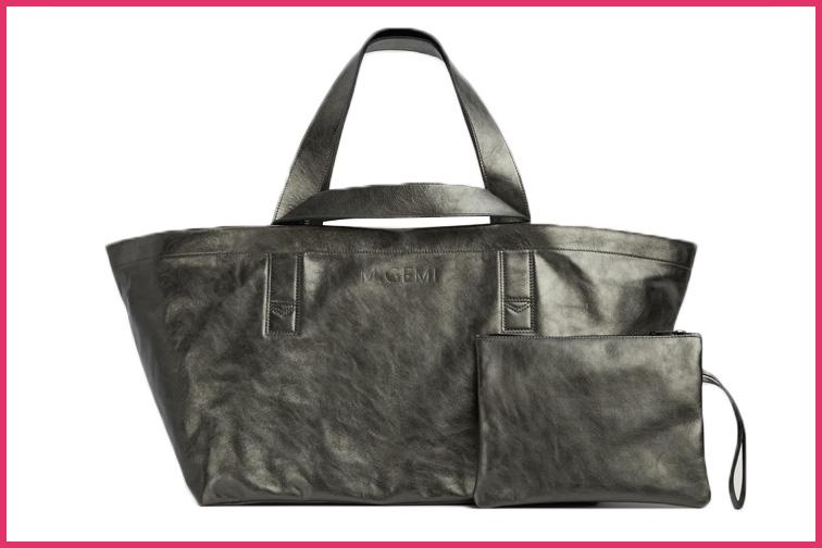 Maria Tote by M. Gemi Travel purse; Courtesy M. Gemi