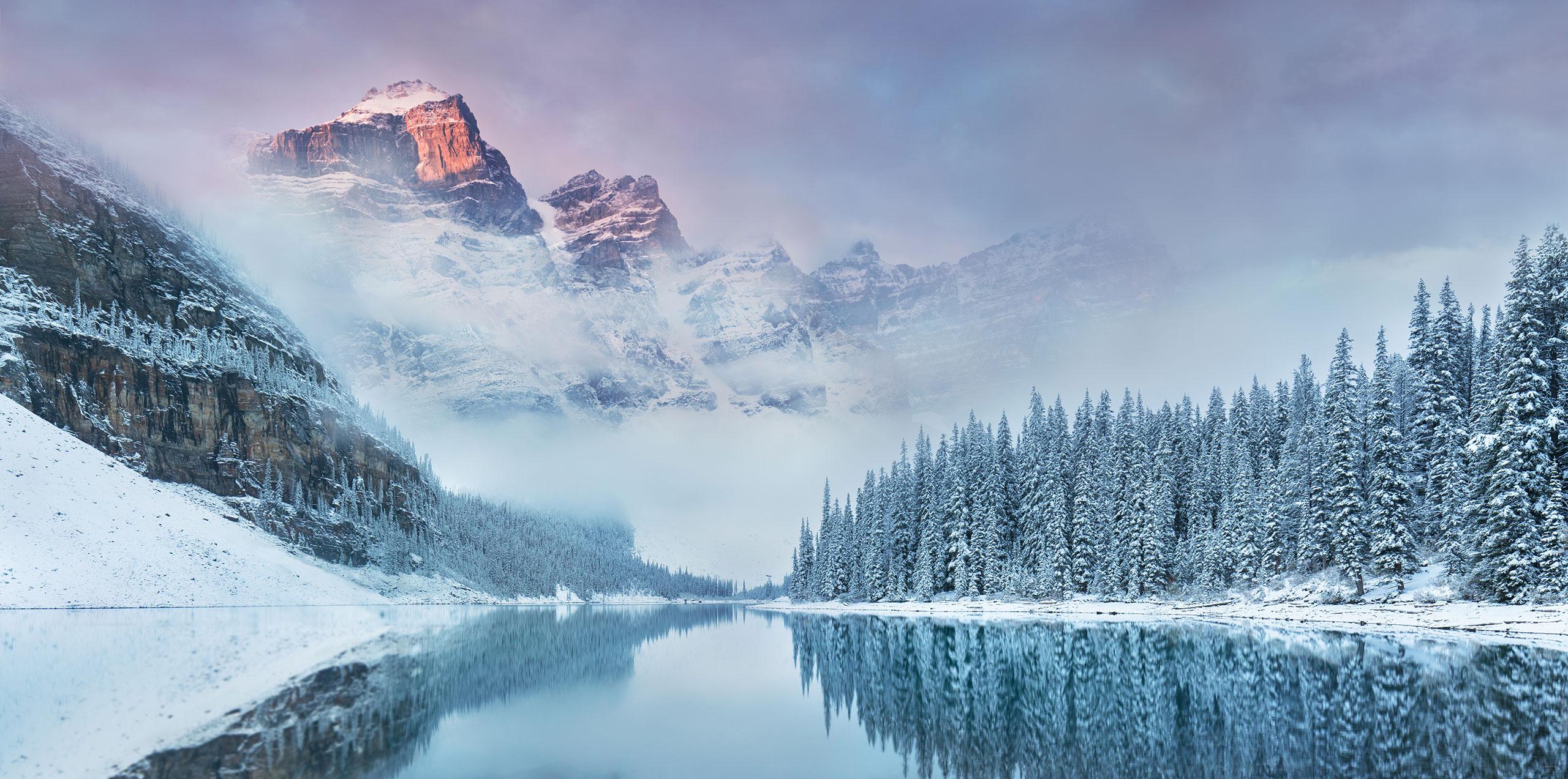 Moraine Lake in Canada; Courtesy of Michal Balada/Shutterstock.com