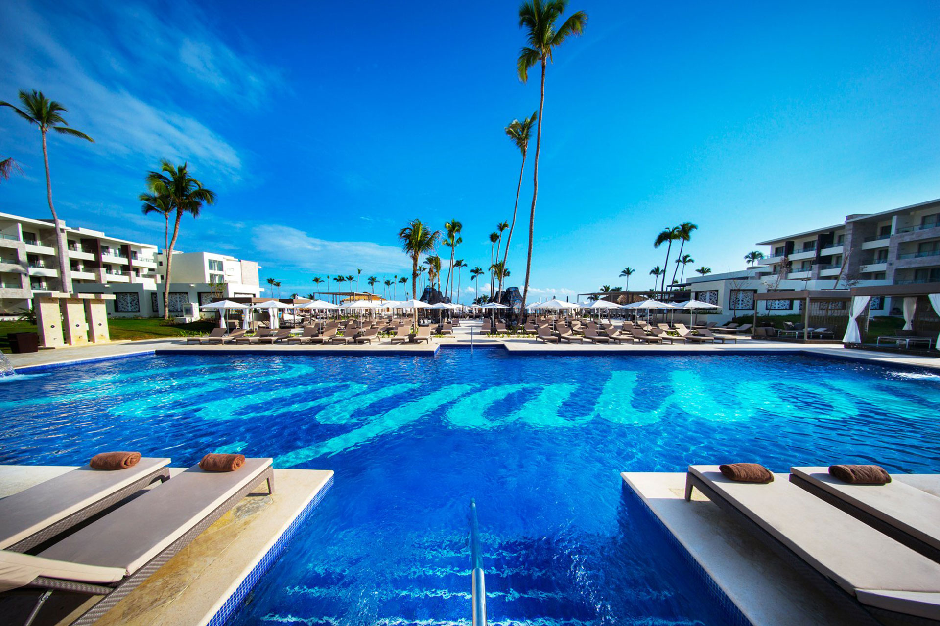 Pool at Royalton Bavaro Resort & Spa in Punta Cana, Dominican Republic