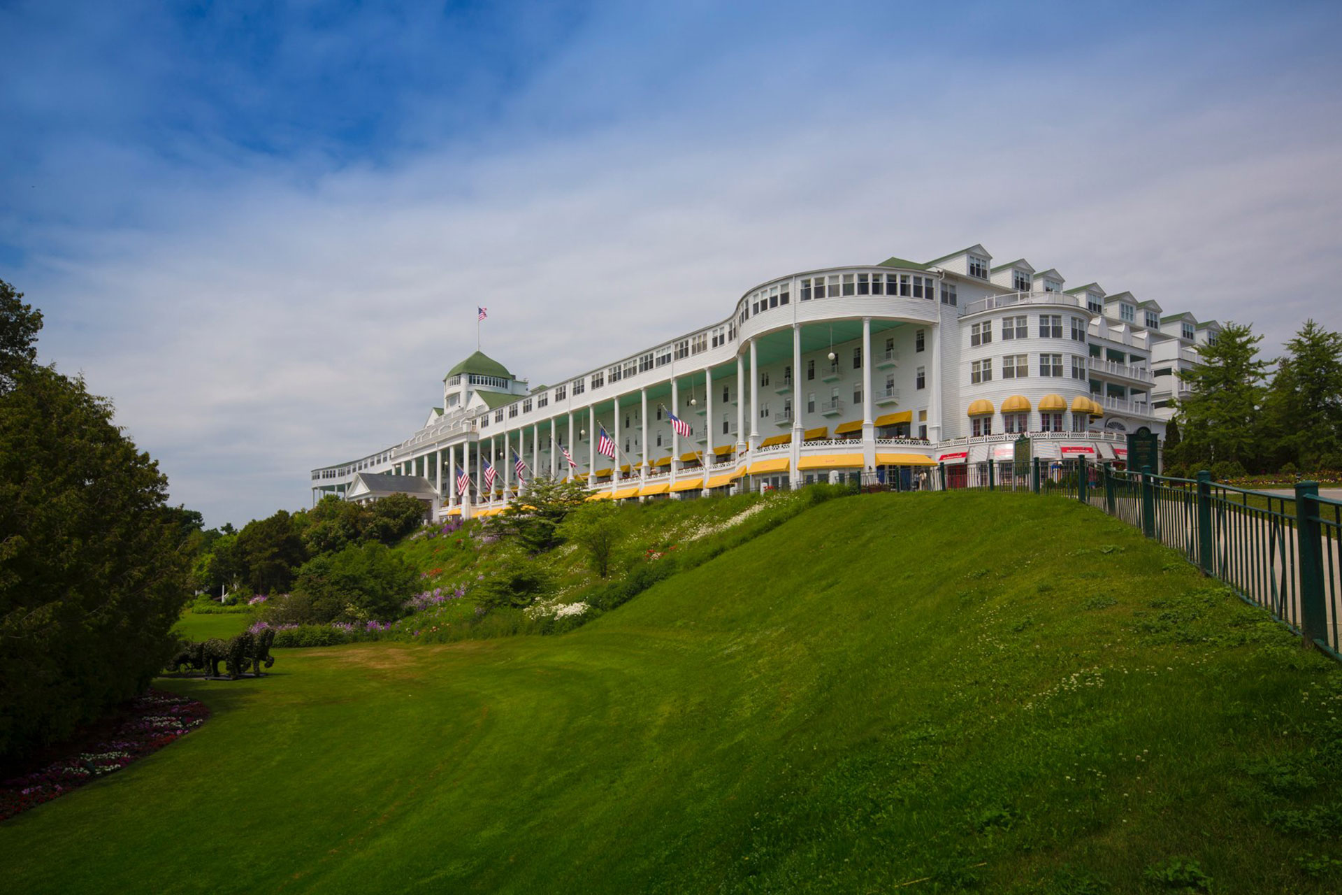 The Grand Hotel on Mackinac Island; Courtesy of The Grand Hotel