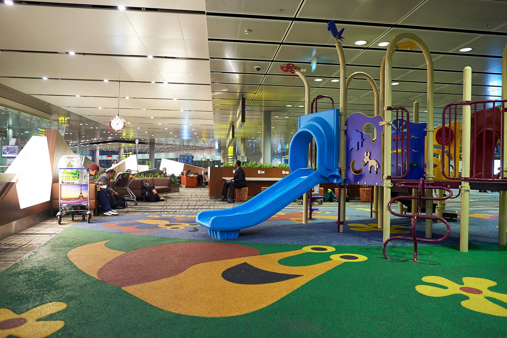 Play area at Singapore Changi Airport.