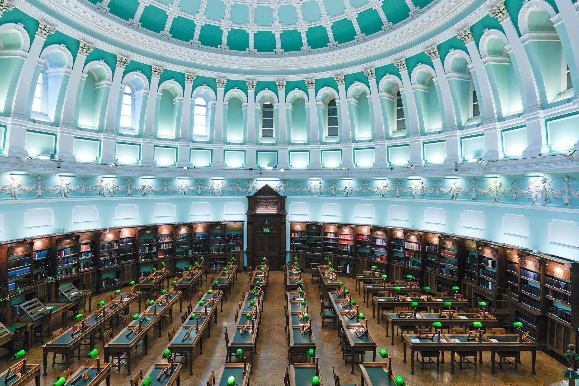 National Library of Ireland in Dublin.