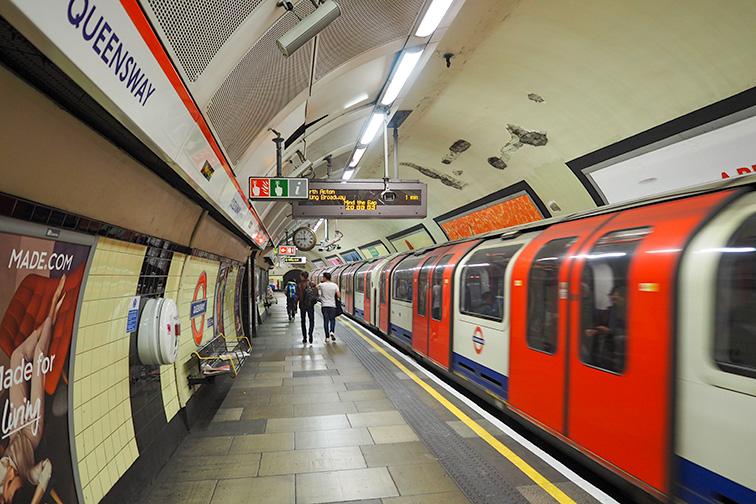 london tube; Courtesy of Alexandre Tziripoulof/Shutterstock