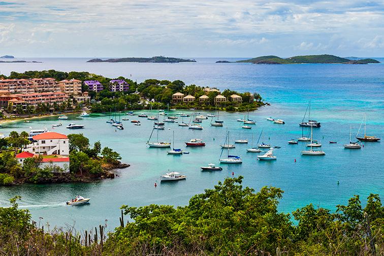 st john bay in virgin islands; Courtesy of Nick Lundgren/Shutterstock
