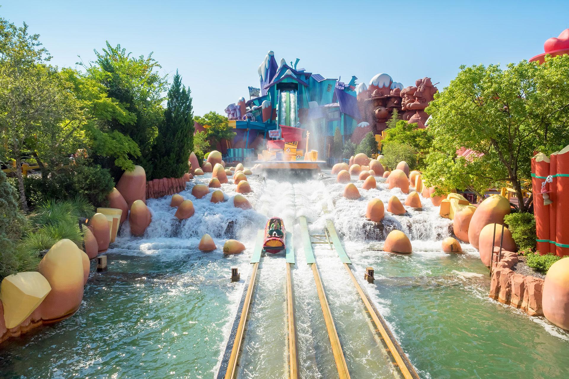Dudley Do-Right Ripsaw Falls at Universal Orlando Resort