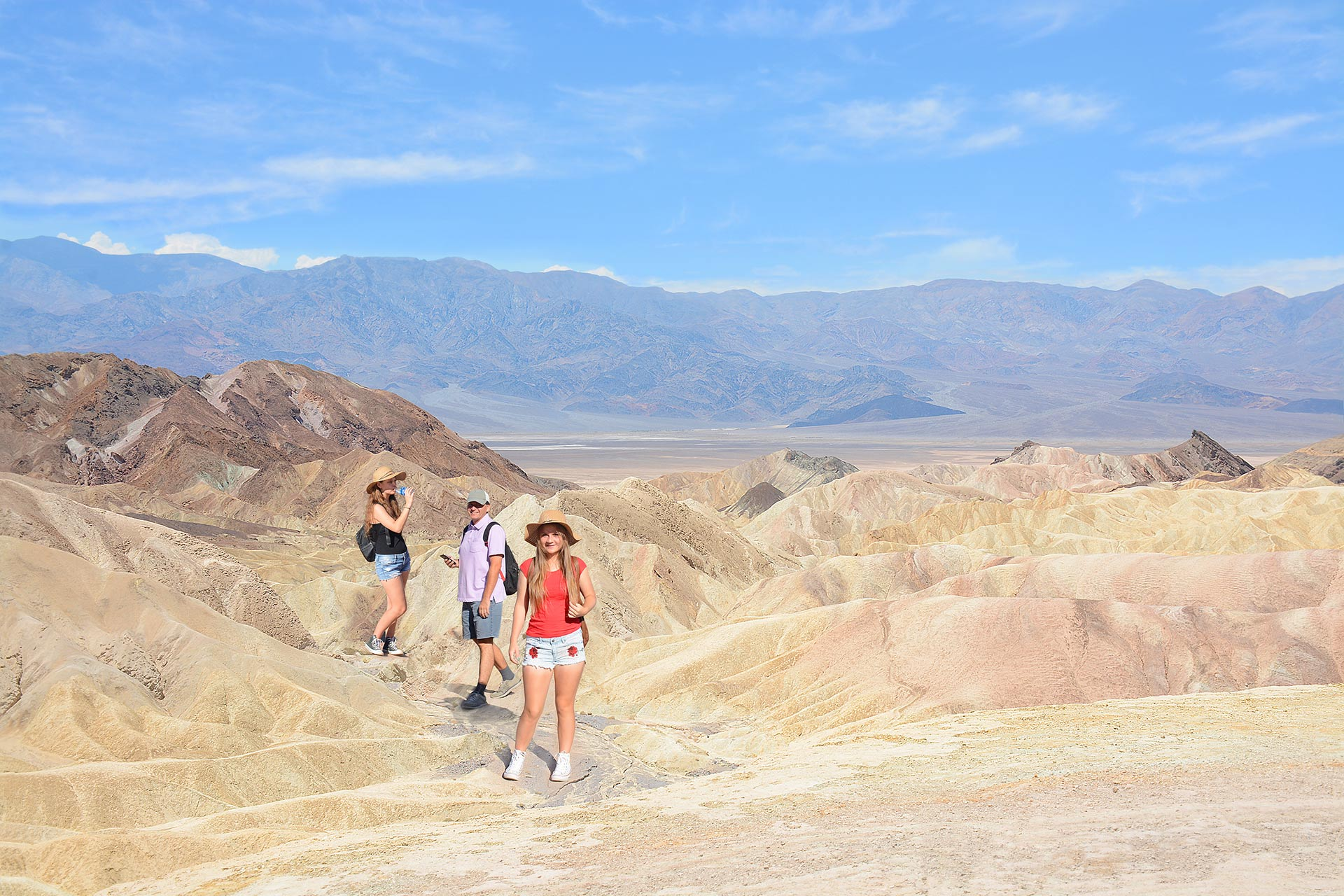 Death Valley National Park in California and Nevada.