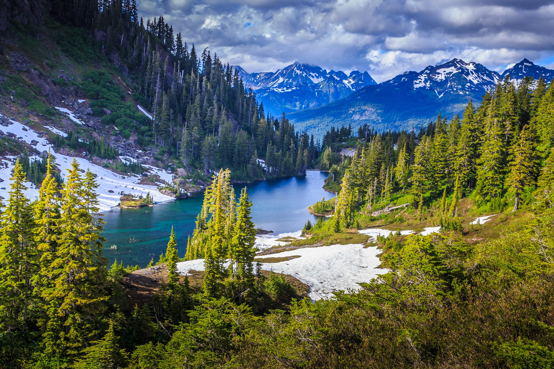 Glacier National Park in Montana, USA.