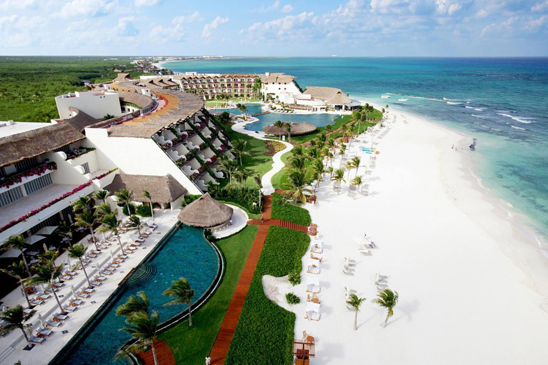 Beach at Grand Velas Riviera Maya - Riviera Maya, MX - All Inclusive Resort