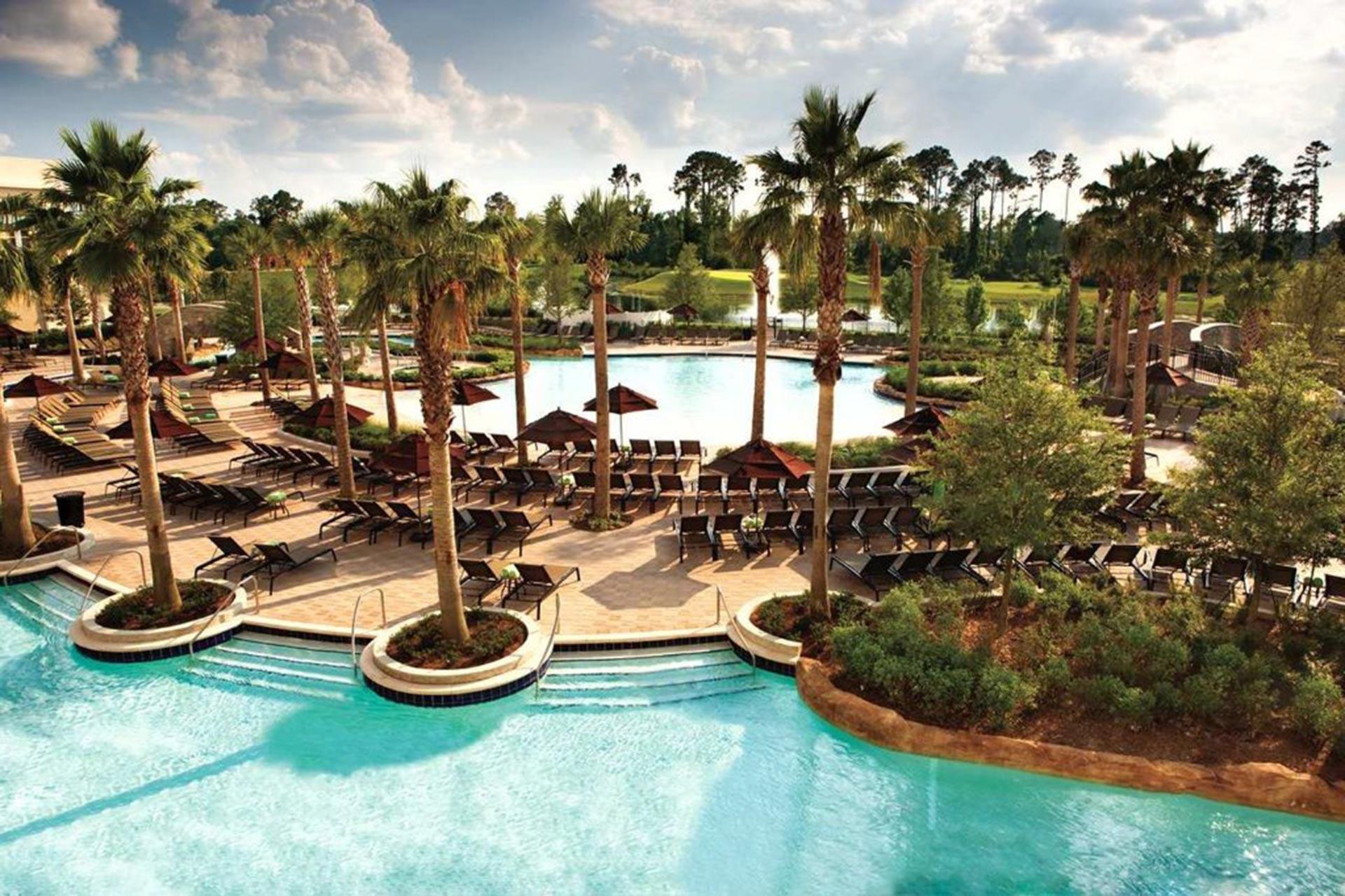 The pool at Hilton Orlando Bonnet Creek.