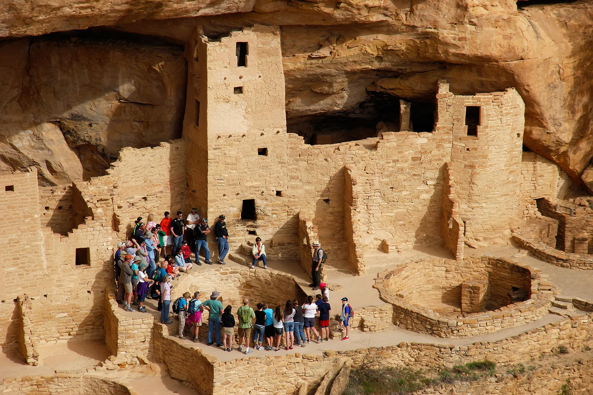 Mesa Verde National Park in Colorado.