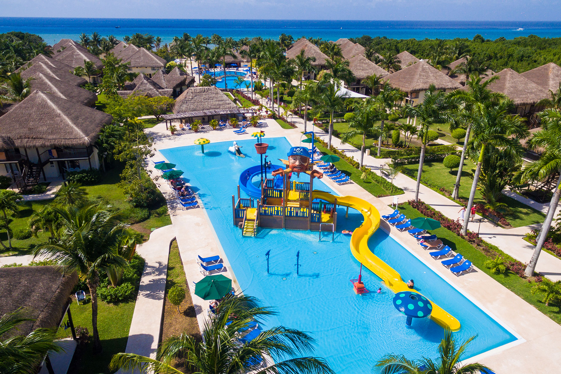 Water Park at Allegro Cozumel in Mexico; Courtesy of Allegro Cozumel