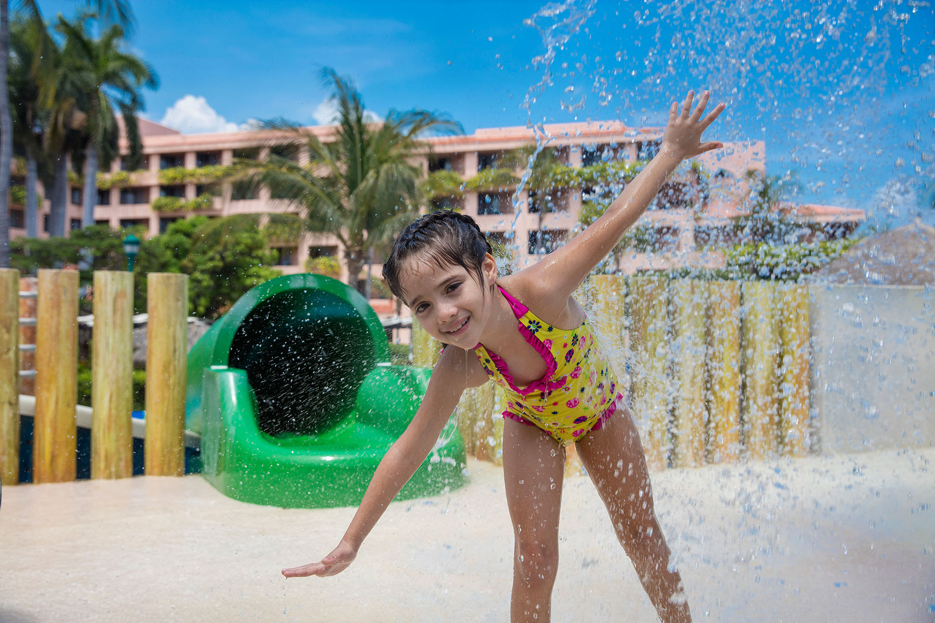 Water Park at Barcelo Huatulco; Courtesy of Barcelo Huatulco