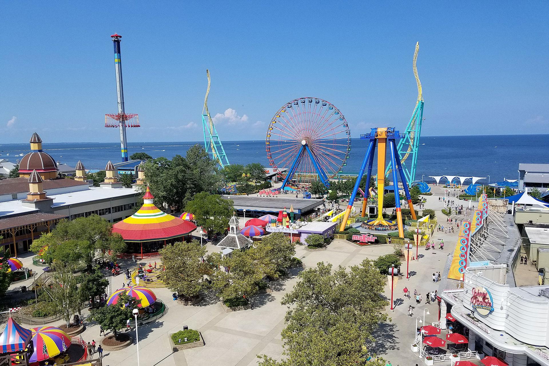 Cedar Point in Sandusky, Ohio; Courtesy of Brady James Smith/Shutterstock.com