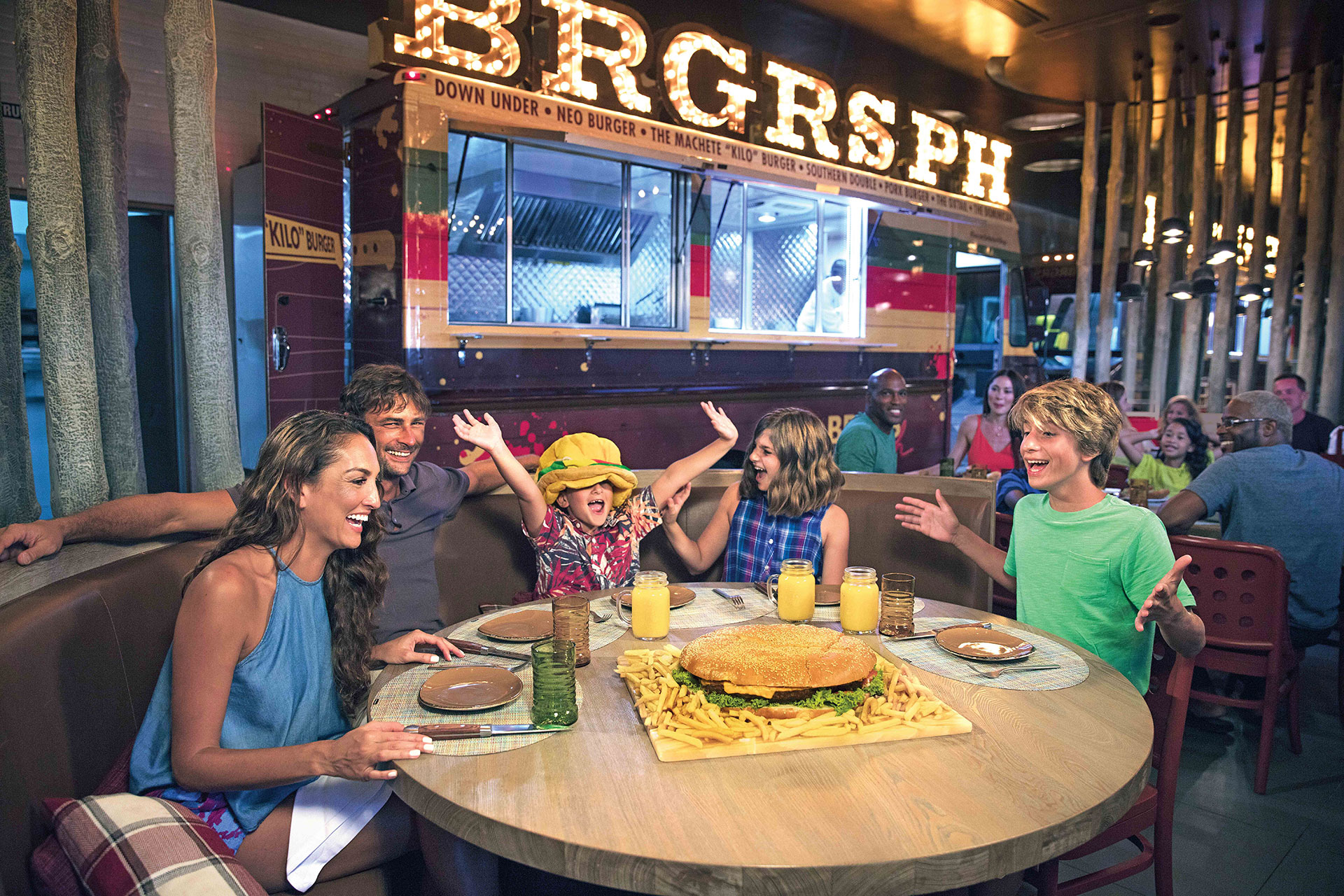 BRGRS at Nickelodeon Hotels & Resorts, Punta Cana in the Dominican Republic