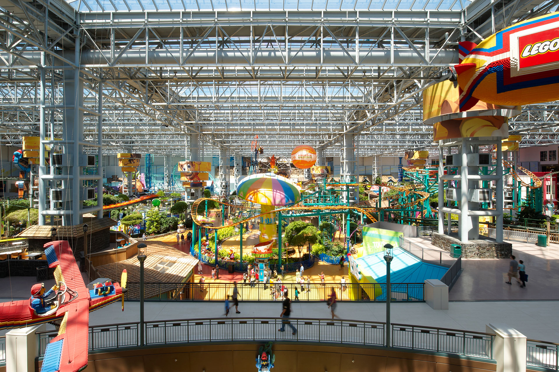 Nickelodeon Universe; Courtesy of Nickelodeon Universe
