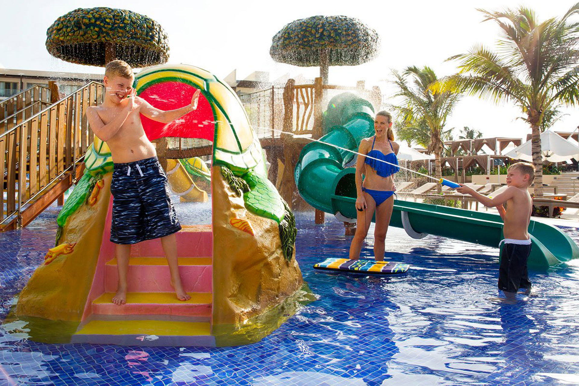 Water Park at Royalton Riviera Cancun; Courtesy of Royalton Riviera Cancun