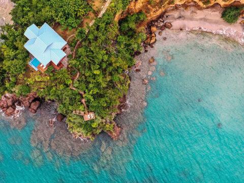 Secret Bay in Dominica; Courtesy of Secret Bay
