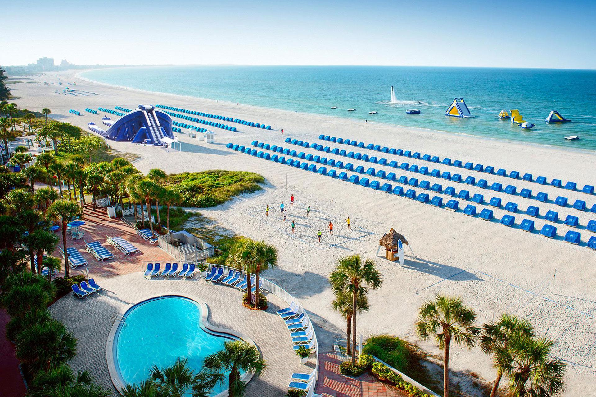 Tradewinds Island Grand Beach Resort in St. Pete Beach, FL