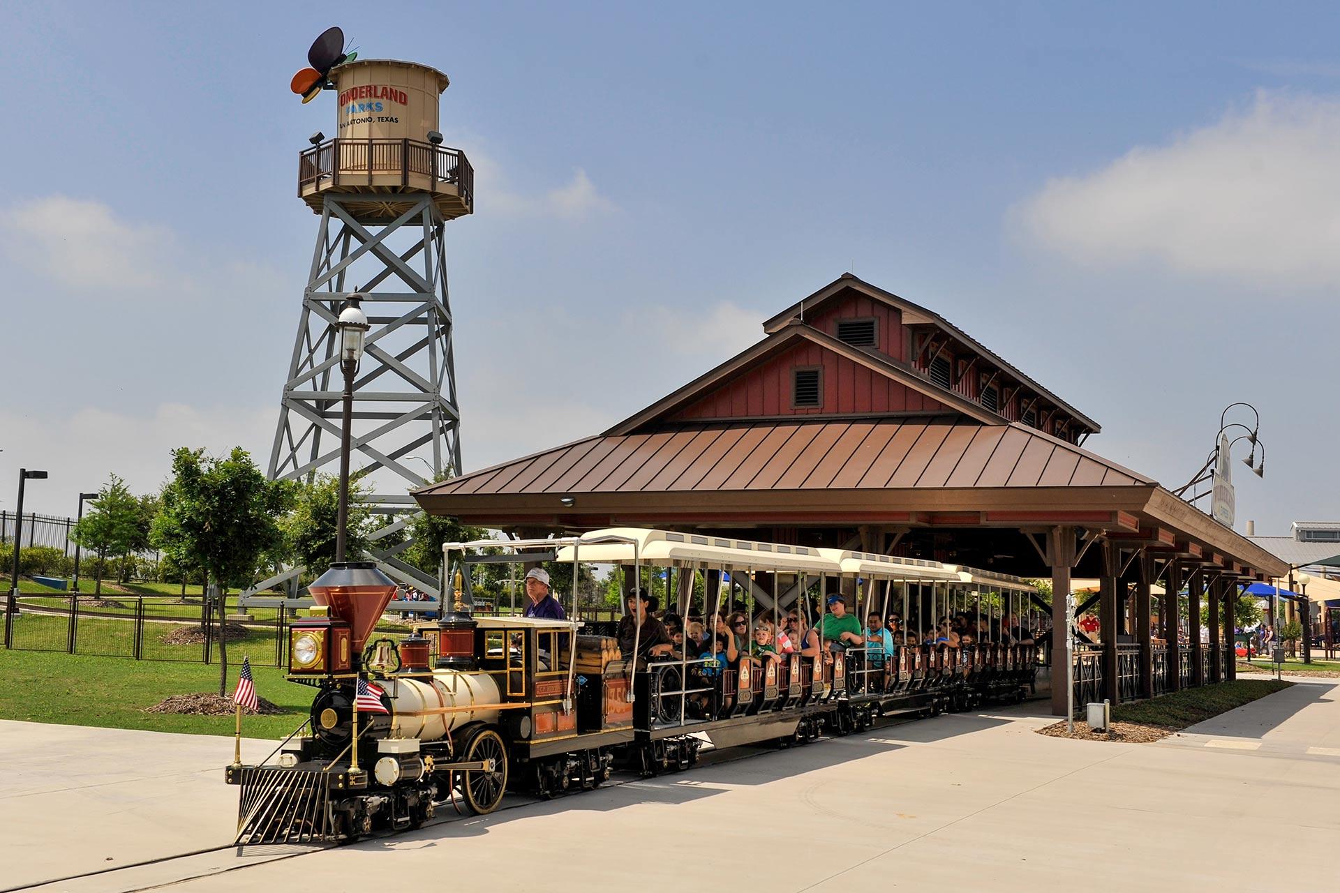 Train Ride at Morgan's Wonderland in San Antonio, Texas; Courtesy of Morgan's Wonderland
