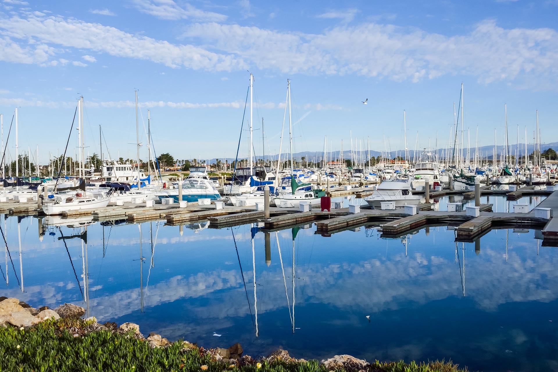 Harbor in Oxnard, California