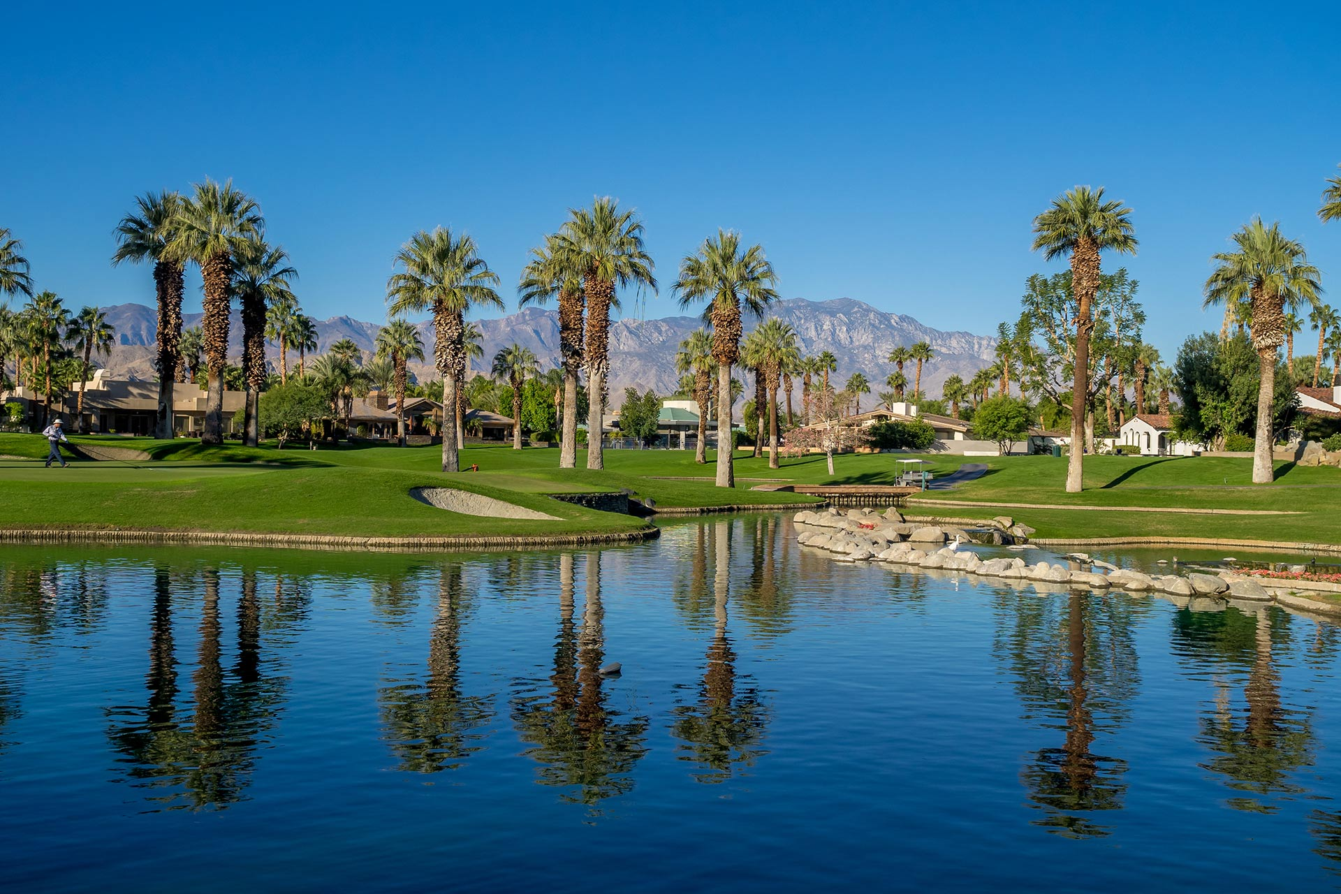 Golf course at JW Marriott Desert Springs Resort & Spa in California