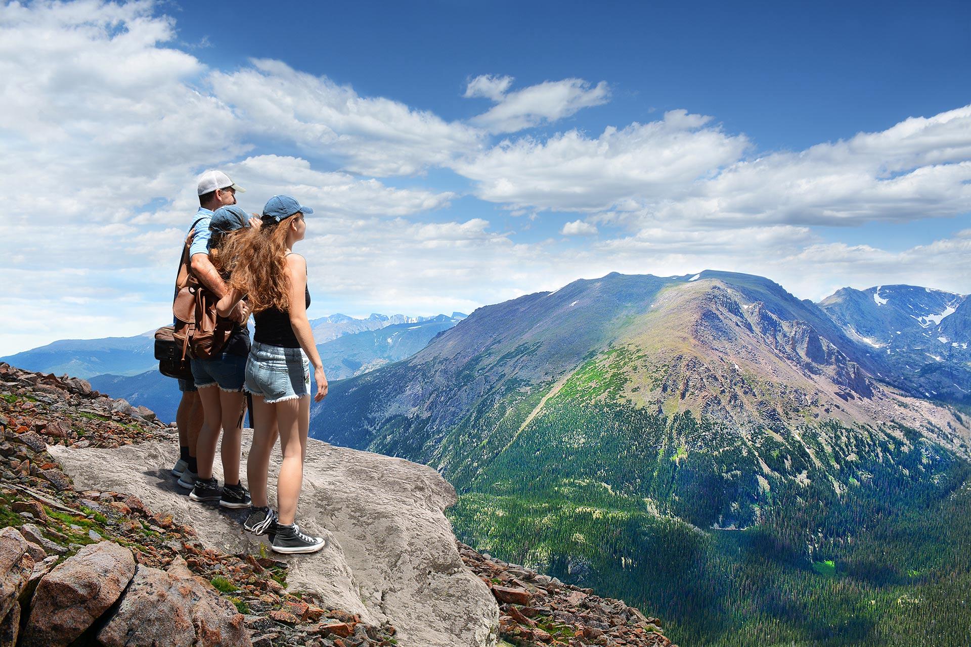 Rocky Mountain National Park in Colorado.