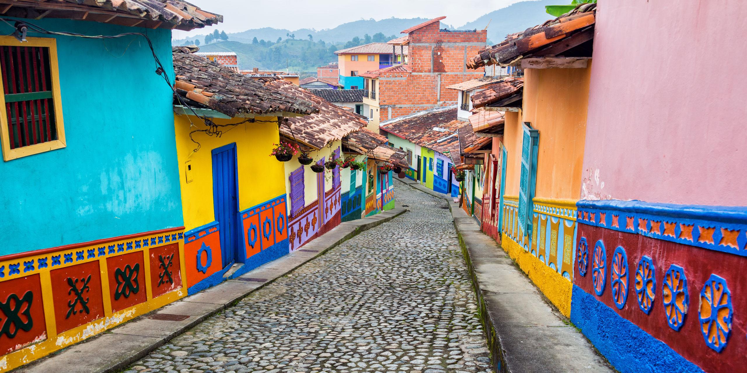 Colombia; Courtesy of Jess Kraft/Shutterstock.com