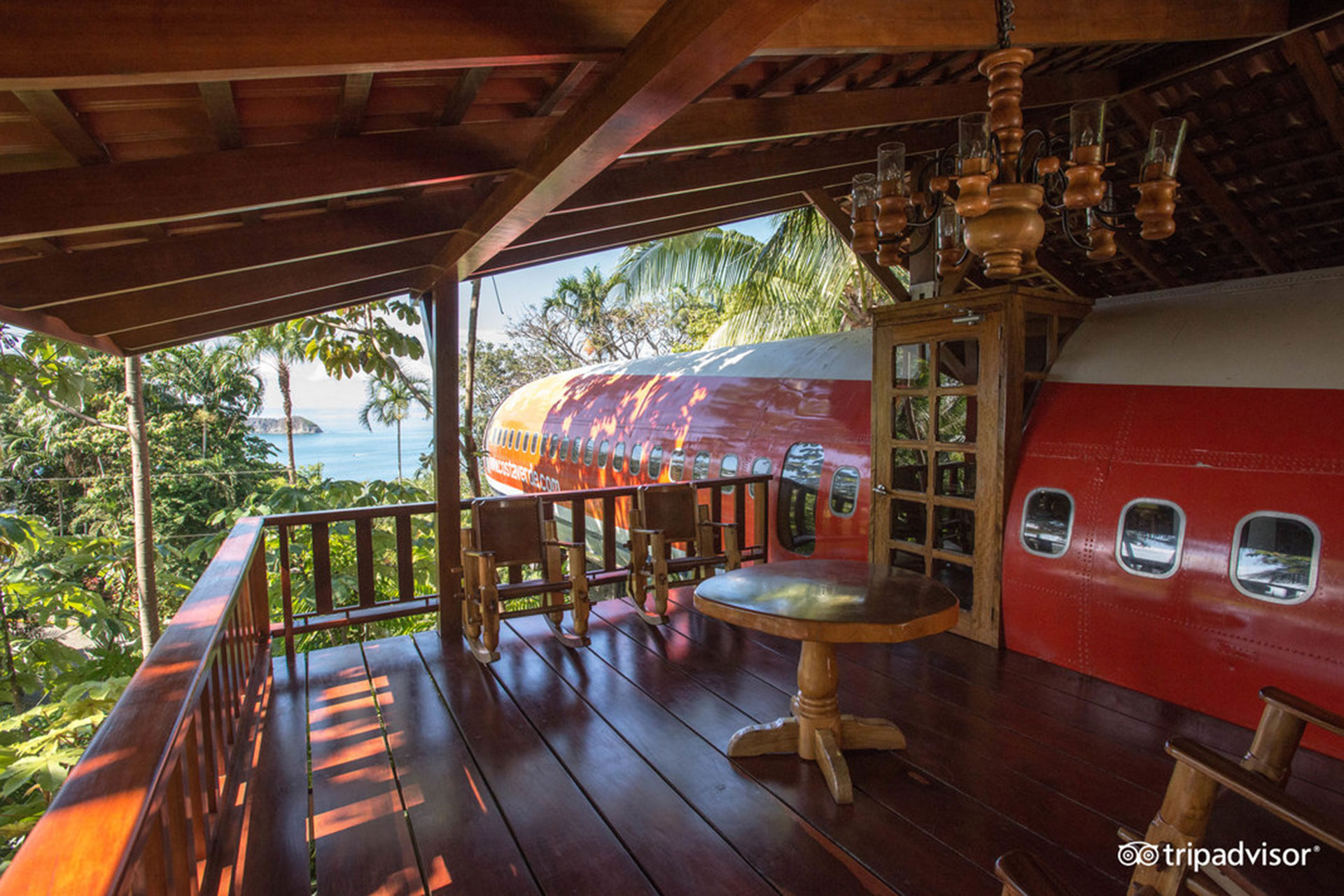 Airplane Suite at Hotel Costa Verde; Courtesy of Hotel Costa Verde